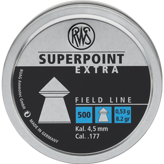 RWS Superpoint Extra 4,5 mm 0,53g 500/1